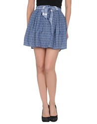 Sessun Skirts Mini Skirts Women Blue