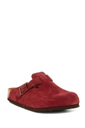 Birkenstock Boston Soft Footbed Clog Red
