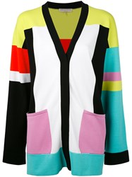 Emilio Pucci Colour Block Cardigan Women Polyester Rayon S