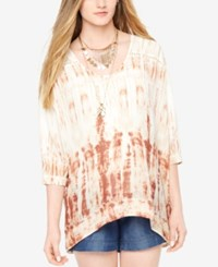 Motherhood Maternity Tie Dye Tunic Tie Dye