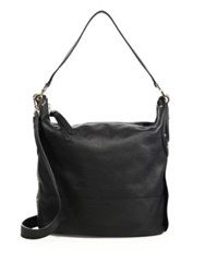 See By Chlo Classic Leather Hobo Black
