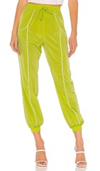 Lovers Friends Liz Track Pant In Green.