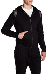 Parke And Ronen Long Sleeve Lounge Hoodie Black