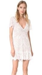 For Love And Lemons Lily Tee Dress White