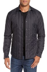 Boss Men's 'Russell' Trim Fit Quilted Shirt Jacket