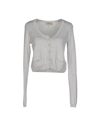 Just For You Cardigans Light Grey
