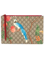 'Gucci Tian' Clutch Women Calf Leather One Size