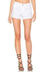 Joe's Jeans Cuffed Short Optic White