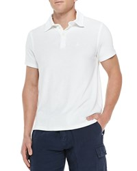 Vilebrequin Terry Polo Shirt White