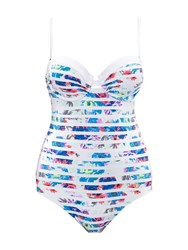 Sunseeker Push Up Swimsuit Multi Coloured Multi Coloured