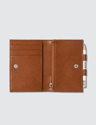 Maison Martin Margiela Mm6 Small Wallet With Pencil Brown