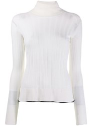 Pinko Roll Neck Jumper White