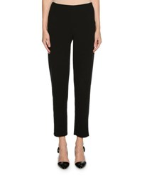 Giorgio Armani Zip Cuff Narrow Leg Pants Black
