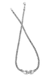 Lagos Women's 'Derby' Diamond Buckle Rope Necklace Online Only
