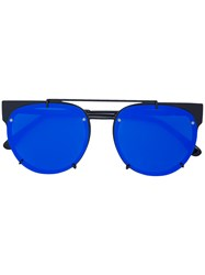 Vera Wang Concept 92 Sunglasses Stainless Steel Plastic Blue