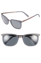 Ted Baker 53Mm Retro Polarized Sunglasses Grey