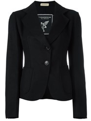 Wunderkind One Button Blazer Black