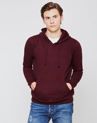 The Idle Man Overhead Hoodie Burgundy