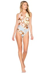 Salinas Spring One Piece Blue