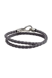 Tod 'S Braided Leather Wrap Bracelet