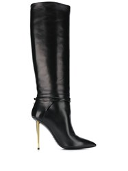 Tom Ford Contrast Stiletto Heel 120Mm Boots 60
