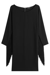 Steffen Schraut Dress With Fringing Black