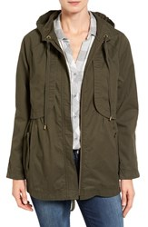 Caslonr Women's Caslon Hooded Utility Jacket