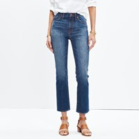 Madewell Cali Demi Boot Jeans In Donovan Wash