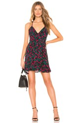 Lovers Friends Gigi Wrap Dress Black