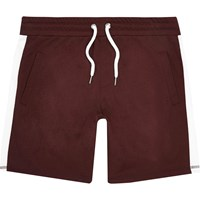 River Island Mens Red Stripe Casual Shorts