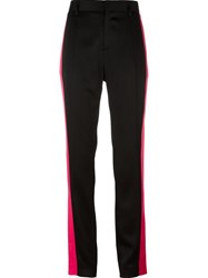 Haider Ackermann Side Stripe Trousers Black