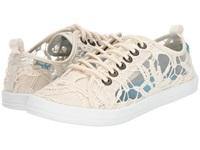 Blowfish Cabala Natural Cabo Crochet Women's Lace Up Casual Shoes Neutral