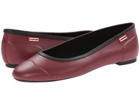 Hunter Original Tour Ballerina Damson Women's Flat Shoes Purple