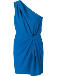 Dsquared2 One Shoulder Dress Blue