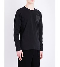 The North Face Logo Print Cotton Jersey T Shirt Tnf Black