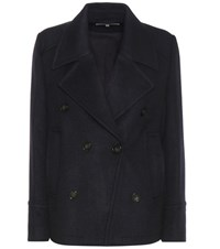Vanessa Bruno Wool Blend Coat Blue