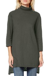 Women's Michael Stars Supima Cotton Mock Neck Tunic