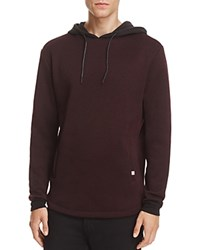 Sovereign Code Sylmar Hoodie Sweatshirt Burgundy