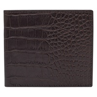 Reiss Paul Textured Leather Fold Wallet