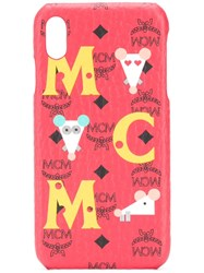 Mcm Logo Iphone Xs Max Cover 60