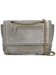 Jerome Dreyfuss Benjamin Shoulder Bag Grey