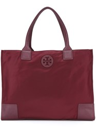 Tory Burch Large Shopper Tote Red