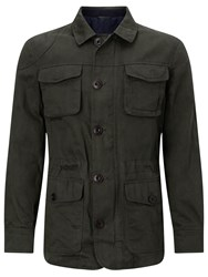 John Lewis And Co. Halley Stevenson Waxed Twill Jacket Olive