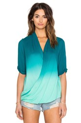 Young Fabulous And Broke Cora Top Teal