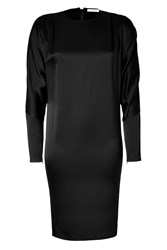 Hakaan Black Dolman Sleeve Dress Black