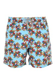 Mc2 Saint Barth Gustavia 31 Cube Swim Shorts