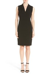 Women's T Tahari 'Tonya' V Neck Sheath Dress