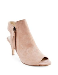 Adrienne Vittadini Glyna Open Toe Dress Shooties Almond