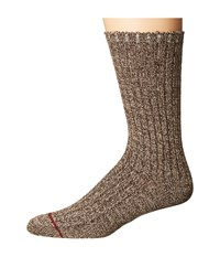 Ugg Classic Heather Rib Crew Socks Stout Crew Cut Socks Shoes Brown