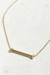 Urban Outfitters Nut Bolt Necklace Gold